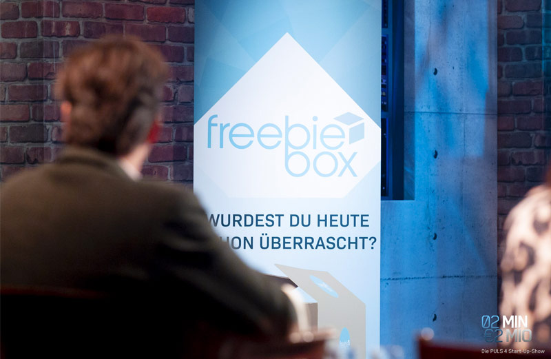 Freebiebox im Pitch bei 2 Minuten 2 Millionen – mehr als 2 Stunden Anspannung