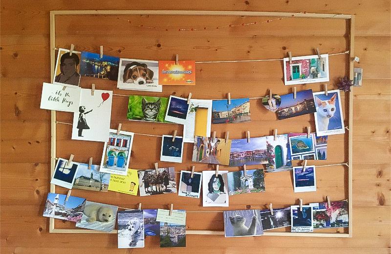 DIY – Erinnerungen festhalten | Holzrahmen als Fotocollage