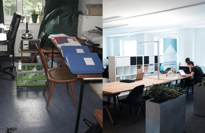 Die Anfänge von Freebiebox – vom Kinderzimmer zum Start Up Büro